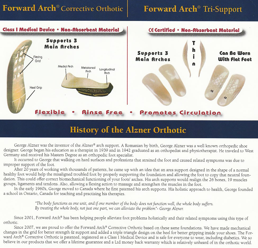 History of Alzner Orthotic